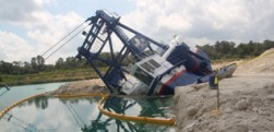 Mining Dragline Collapse