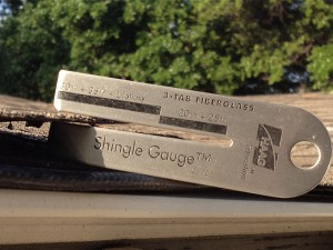 1/12 Shingle Gauge™    (3-Tab Only)
