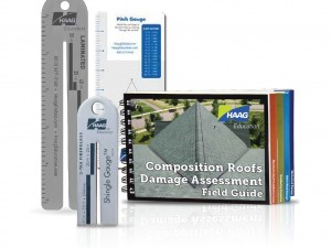 4/09 Shingle Gauge™ + 1/12 Shingle Gauge™ + Composition Field Guide + Pitch Gauge Combo
